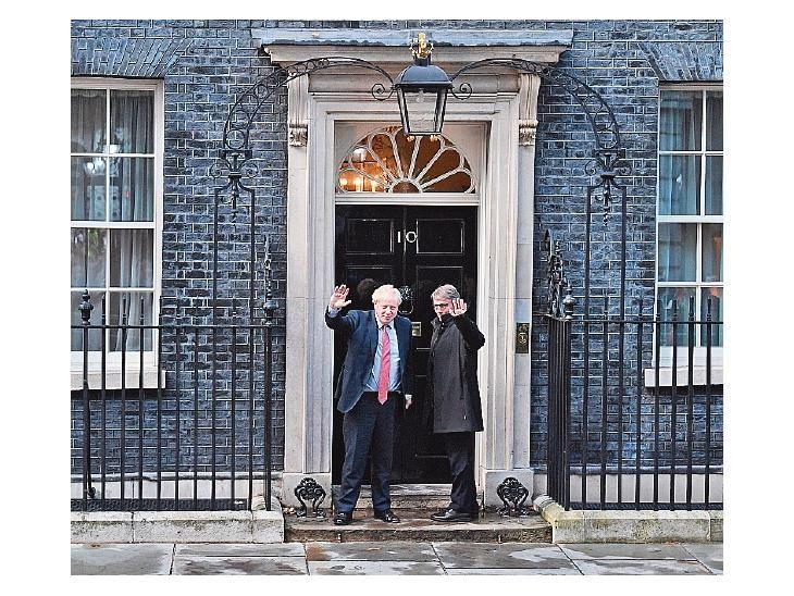 Malestar. La UE se irritó y acusó a Johnson de jugar con ella.