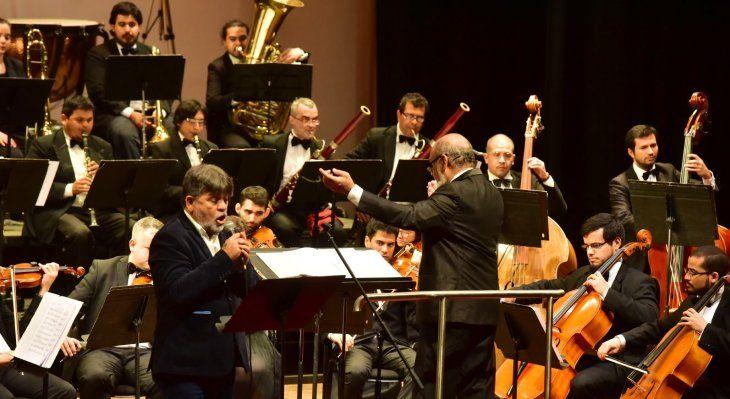 Protagonista. Ricardo Flecha tendrá el apoyo de la Sinfónica Nacional.