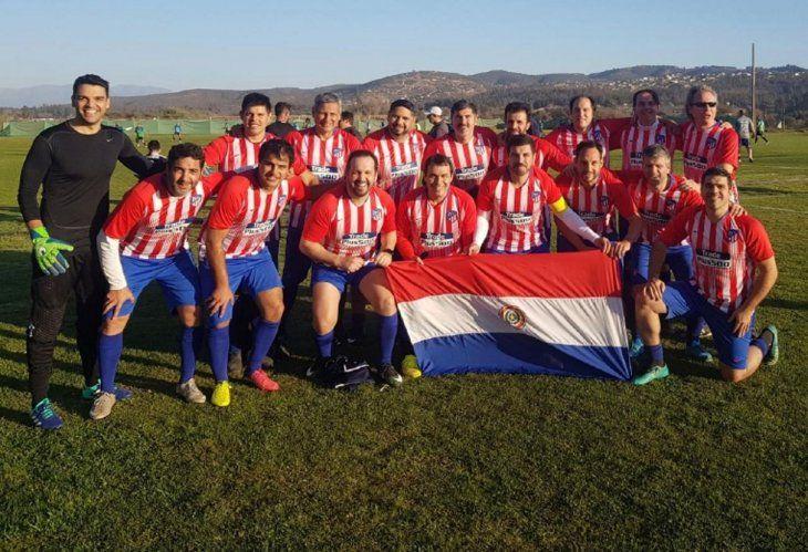 Campeones. Padres del SIL lograron el título en Chile.