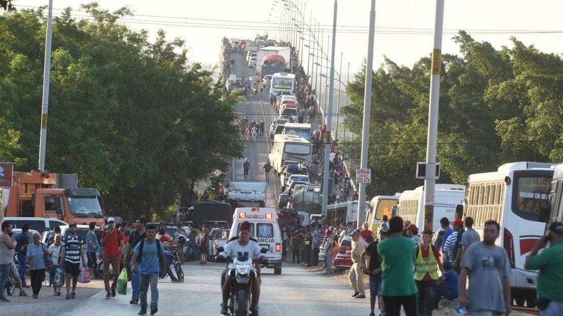 Indígenas bloquearon el Puente Remanso por 11 horas