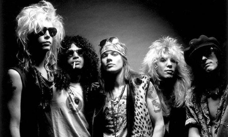 Guns N' Roses batió récord en YouTube con