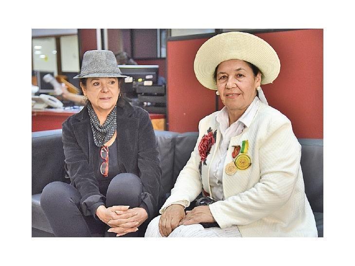 Pedido. Katia Filártiga y Laislaa García visitaron la redacción.