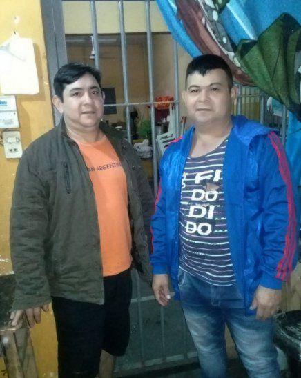 Los hermanos Gregorio y Víctor Morales