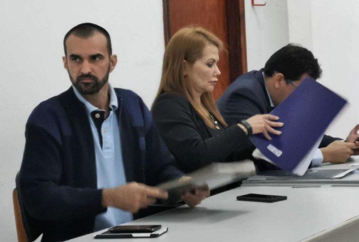Condenado. Édgar Martínez Sacoman condenado a 5 años de prisión.