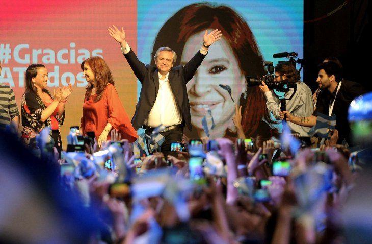 El futuro nuevo presidente argentino