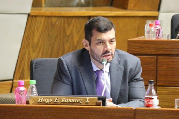 El diputado Hugo Ramírez abogó por trabajar para los asuncenos.