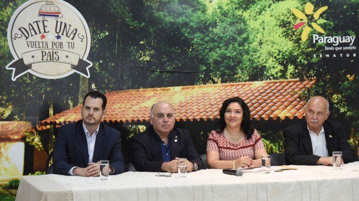 Lanzamiento. La ministra Sofía Montiel de Afara presidió el lanzamiento del Black Friday.
