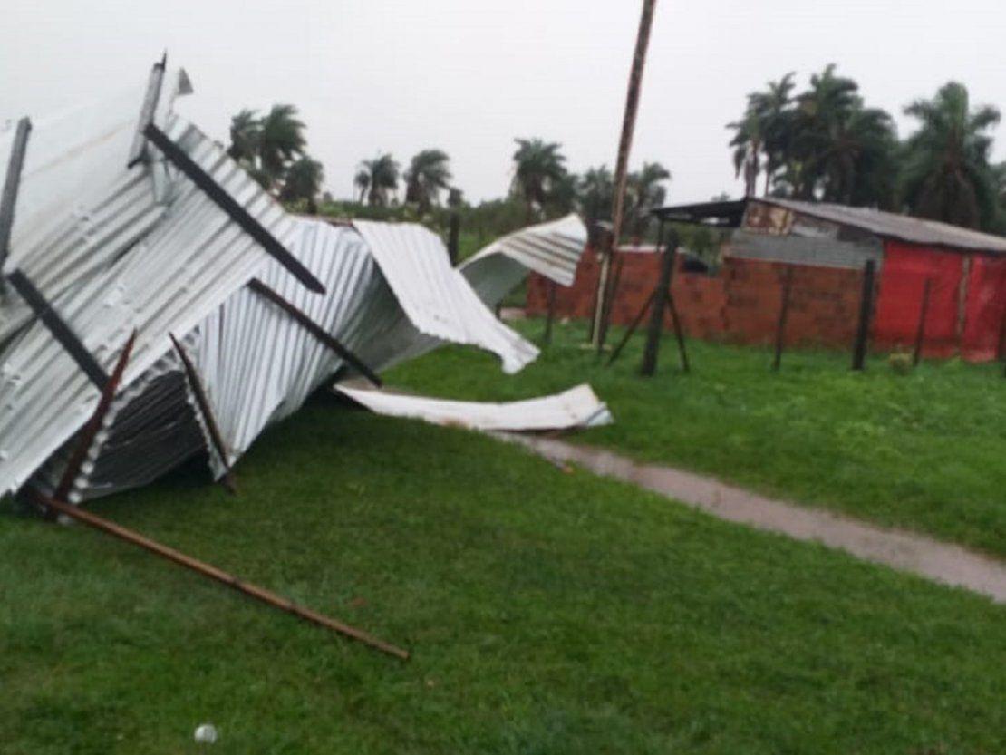 Fuerte temporal deja más de 20 casas destechadas en San Ignacio - ÚltimaHora.com