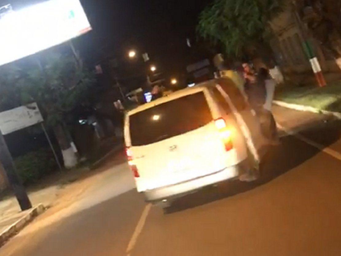De fiesta con camioneta del SNPP en San Juan Nepomuceno - ÚltimaHora.com