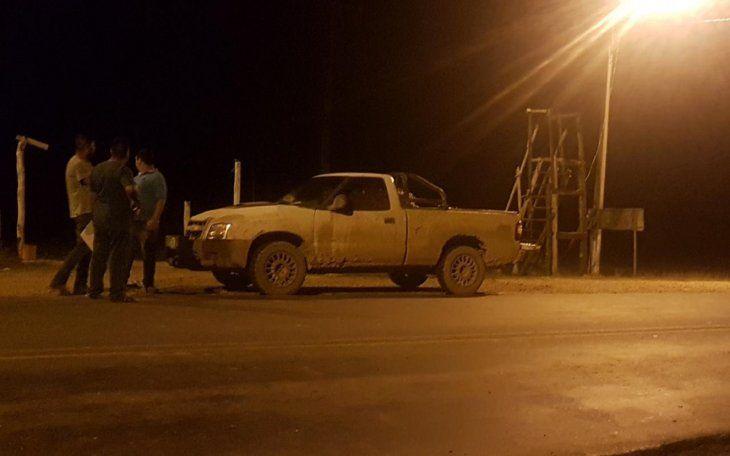 El puesto policial de LomaPorã está ubicado sobre la ruta Transchaco