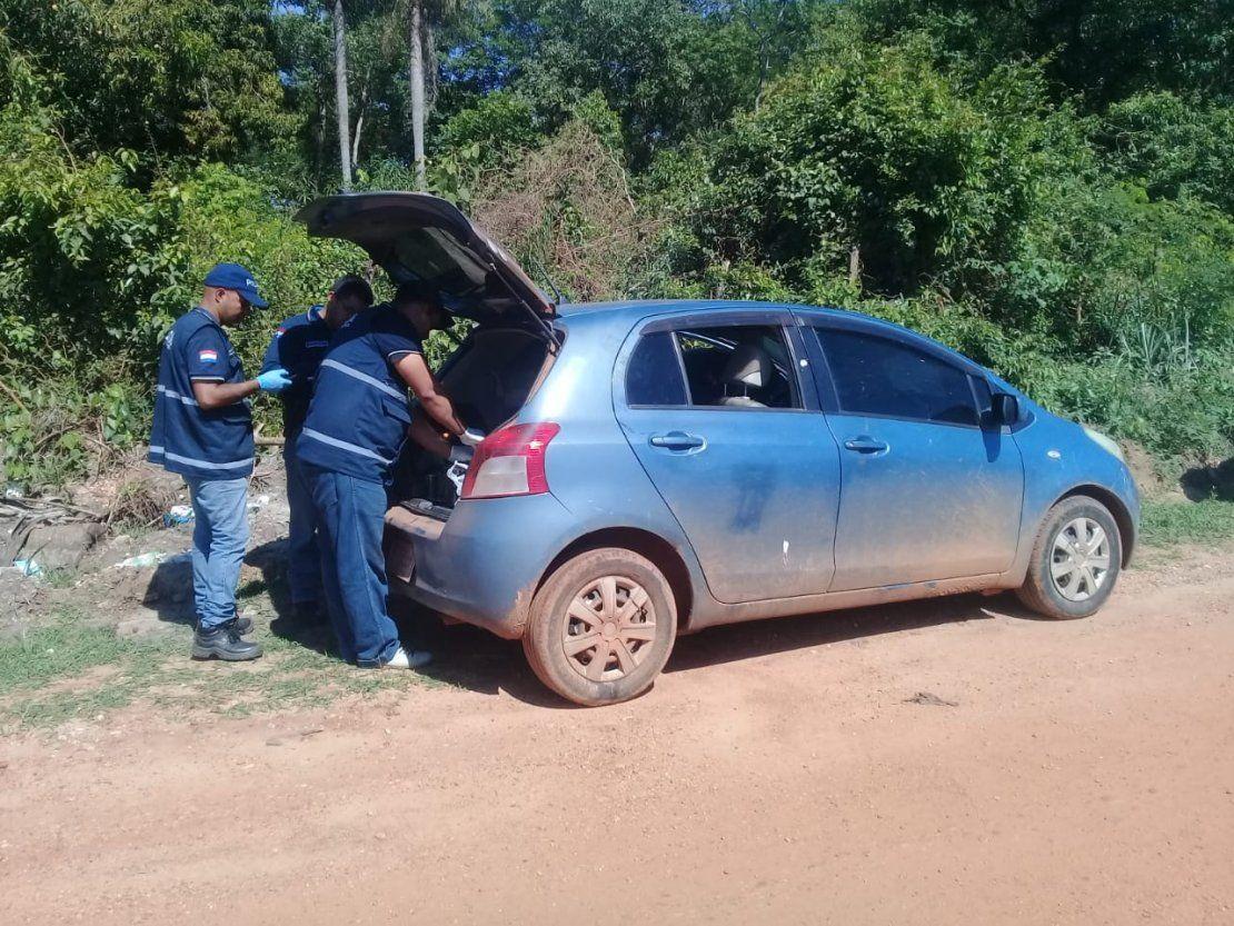 Vehículo en que huyeron asesinos de comisario es hallado en Concepción - ÚltimaHora.com