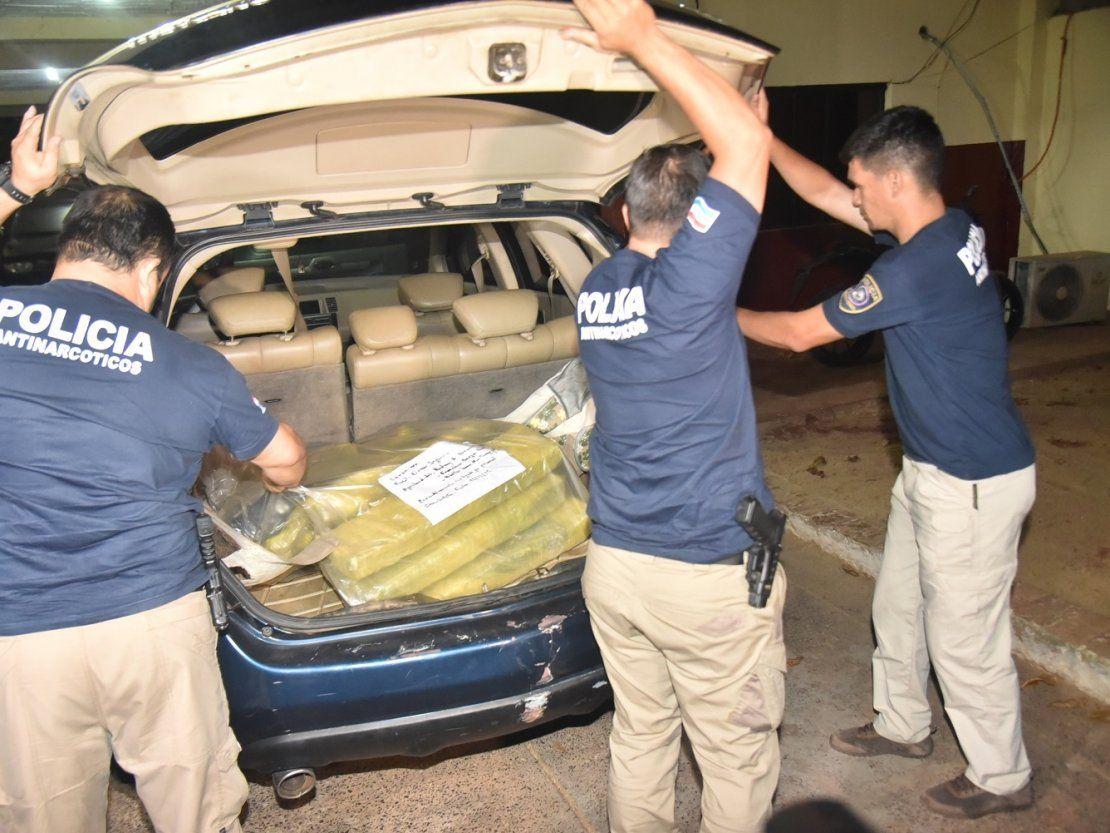 Tres hombres caen con más de 30 kilos de marihuana en Villeta - ÚltimaHora.com