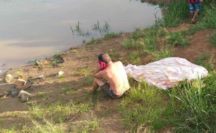 El ahogado fue encontrado por su hermano