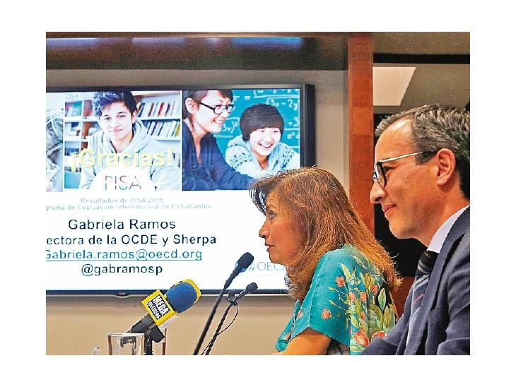México. Presentación del informe Pisa a cargo de la OCDE.