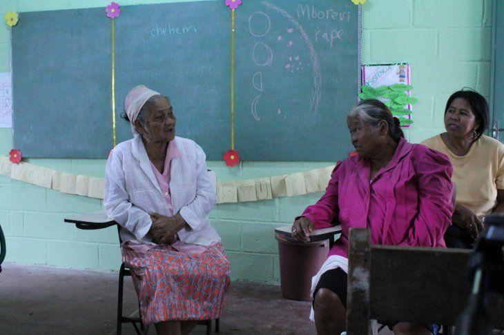 Y solo cuatro abuelas hablan guaná