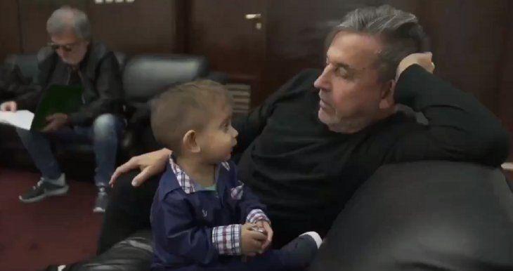 La emotiva despedida de Ricardo Montaner a Brunito