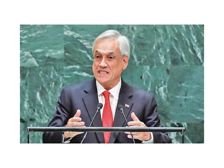 Solidario. El presidente chileno Sebastián Piñera anunció beneficios en el área de la salud.