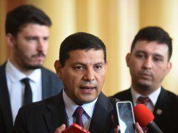 Nueva ley. El viceministro de Comercio, Óscar Mancuello, se encargó de comunicar la promulgación.