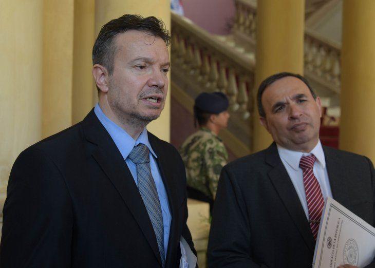 Carlos Arregui aseguró que su labor no se verá entorpecida por los nuevos acuerdos políticos.