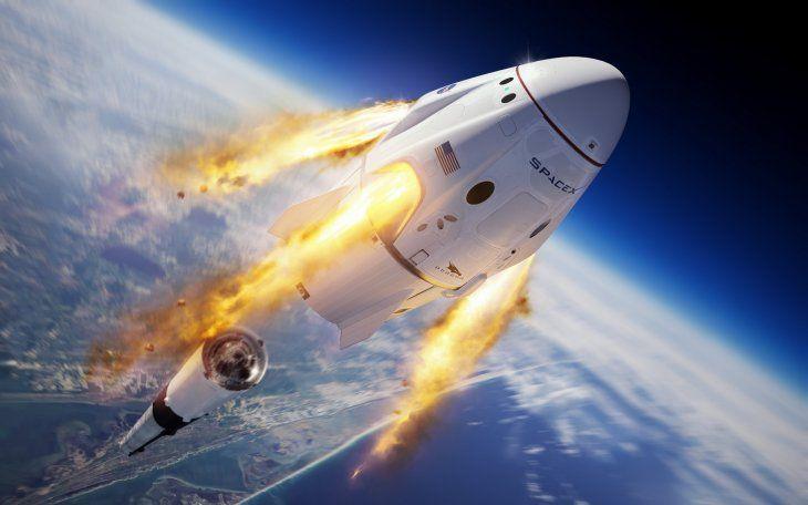 Crew Dragon supera su último test para llevar astronautas al espacio