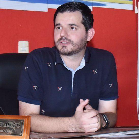 Intendente. El médico Miguel Olmedo ocupa la intendencia del distrito de Santa Elena desde el 2015.