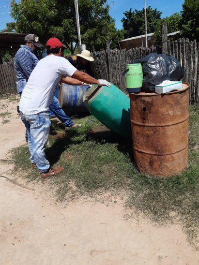 El gobierno departamental insta a la eliminación de criaderos de mosquitos.
