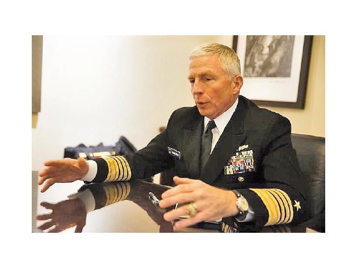 Craig Faller pidió cooperación militar para atacar al