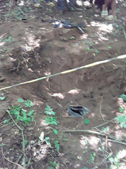 <p>En el sitio fueron hallados tambores, que aparentemente contendrían prendas de Edelio Morínigo.</p>