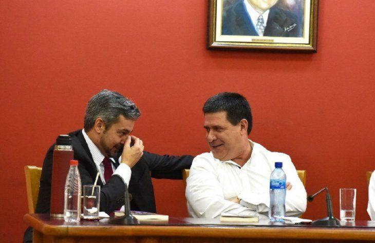 Mario Abdo y Horacio Cartes