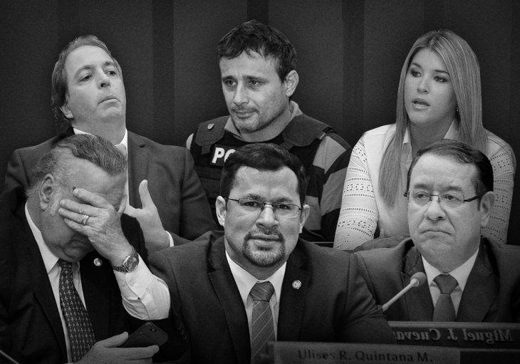 Varios políticos de peso en los últimos cinco años fueron a prisión por diversos delitos.