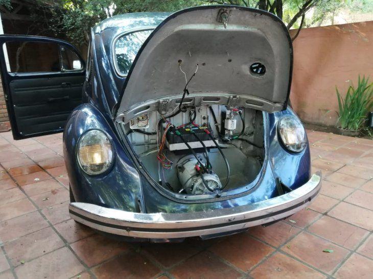 <p>Técnicamente el auto cuenta con un motor trifásico de inducción de 72 voltios y 38 HP de potencia.</p>
