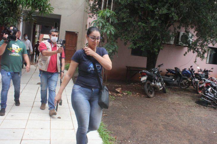 Por el caso también están detenidos la oficial primero Karina  Caballero y el suboficial superior Alcides Moura
