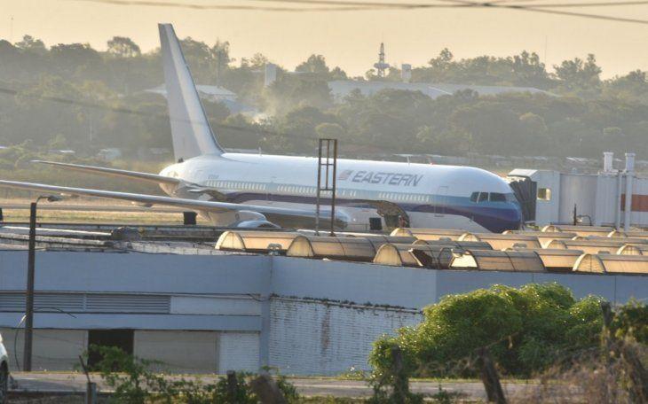 <p>El pasado mi&eacute;rcoles 22 de marzo en horas de la tarde, un total de 158 paraguayos llegaron al pa&iacute;s desde los Estados Unidos de Am&eacute;rica al Aeropuerto Internacional Silvio Pettirossi.</p>