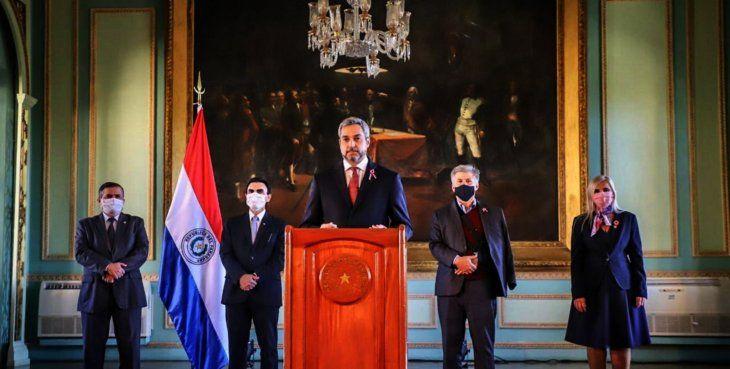 Nuevo control. Mario Abdo Benítez anunció nuevo control cruzado de las compras realizadas en la emergencia sanitaria.
