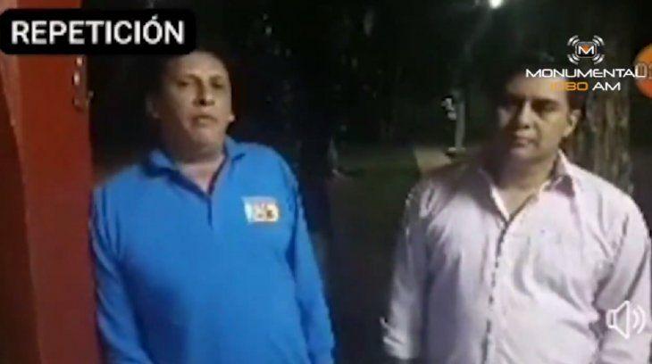 El periodista de Concepción Édgar Chilavert en un video contra Patricia Vargas.