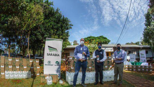 A través de la campaña Juntos Sumamos, el Grupo Sarabia busca fortalecer el sistema sanitario y aportar a la comunidad.
