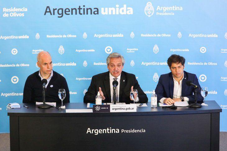 Alberto Fernández defendió la cuarentena.