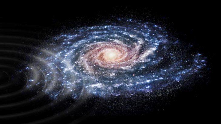 La Vía Láctea es la parte más densa de la galaxia en la que nos encontramos.