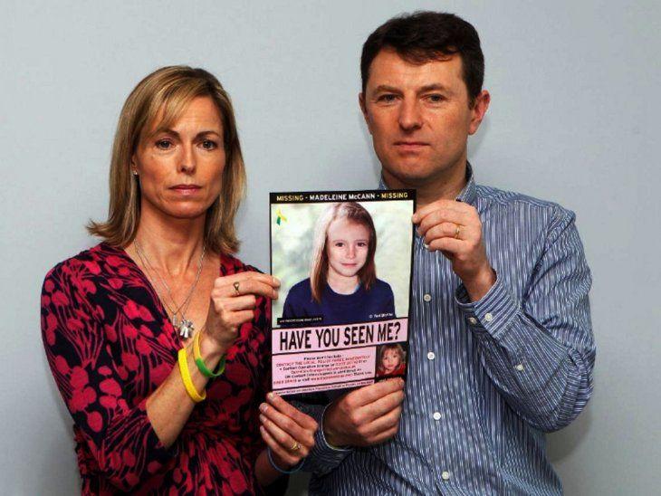 Fiscalía alemana confirma muerte de Madeleine McCann a sus padres