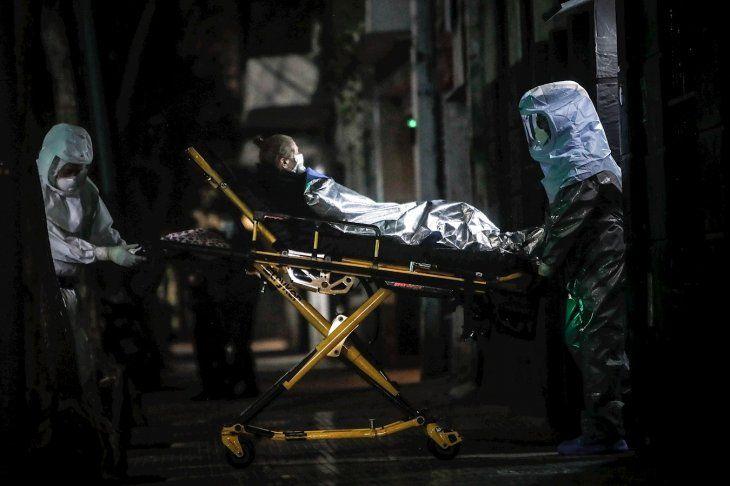 En las últimas 24 horas murieron 38 personas a causa de la pandemia de  Covid-19