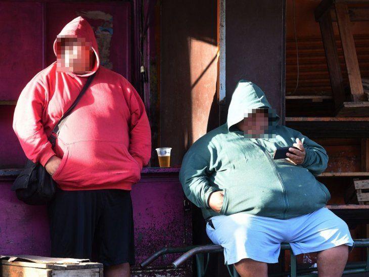 Cuidado. La personas con sobrepeso
