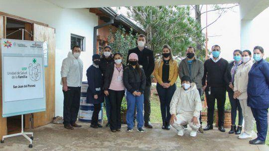 La comunidad de San Juan del Paraná recibió como anexo la unión de un médico al plantel de la Unidad de Salud Familiar (USF).