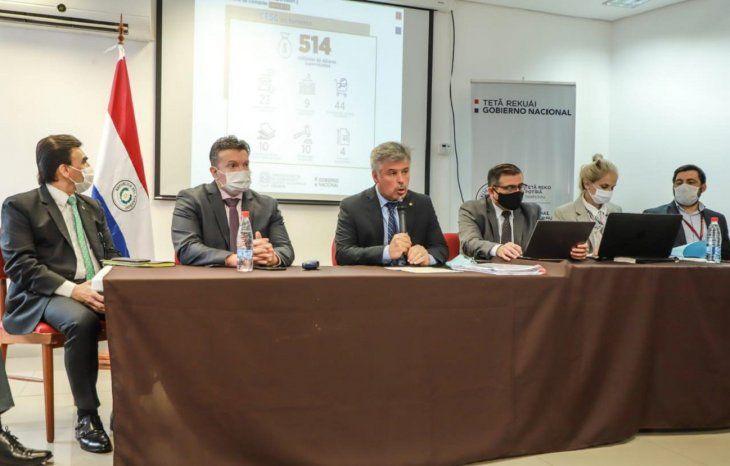 Las comisión especial analizó más de 30 procesos de compra por parte del Estado durante la Emergencia por el Covid-19.