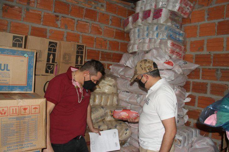 Incautan toneladas de productos de contrabando en diferentes operativos realizados.