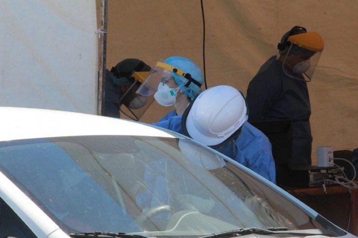 La Costanera sigue siendo uno de los principales lugares en los cuales el Ministerio de Salud toma muestras para el test de Covid-19.