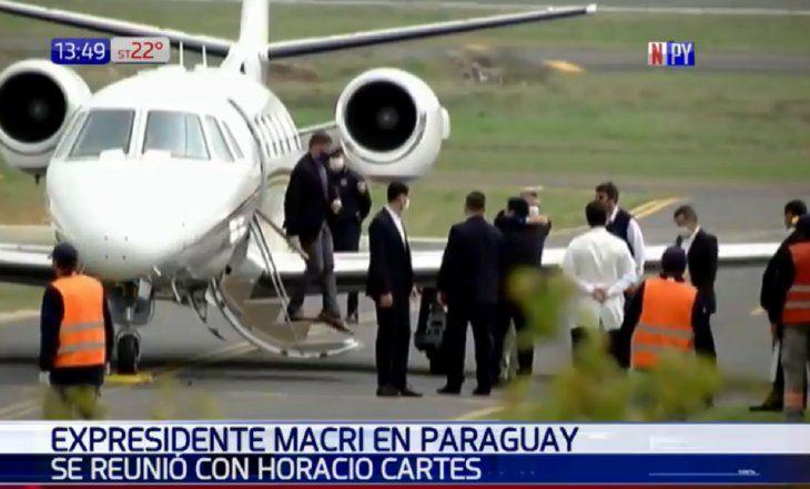 Macri viaja a Paraguay bajo estrictos protocolos por coronavirus