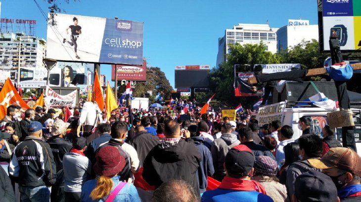 Pobladores de Alto Paraná convocaron una gran manifestación en Ciudad del Este.