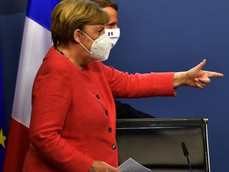 Bruselas. Merkel y Macron guiaron  la UE hacia el pacto.