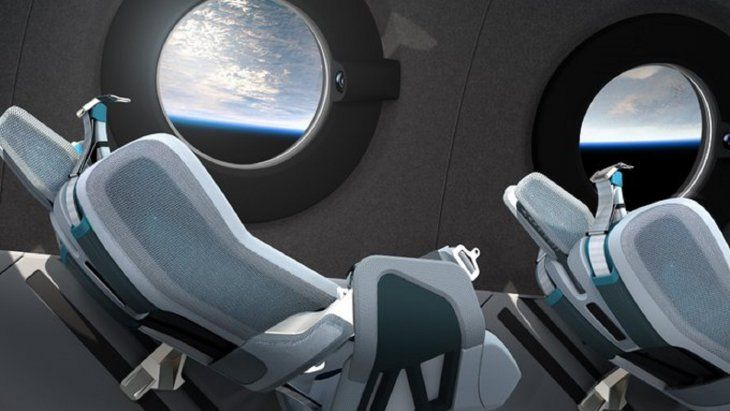 Virgin Galactic: La nave espacial turística