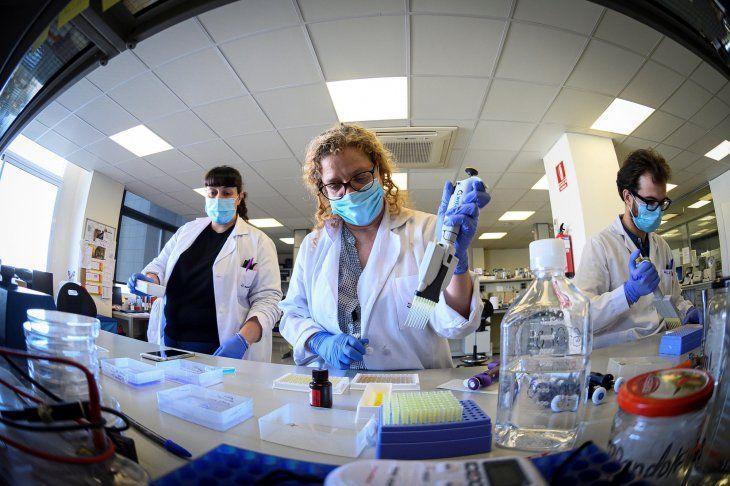 Más de 700 muestras se procesan en el Laboratorio Central de Salud Pública. Imagen referencial.